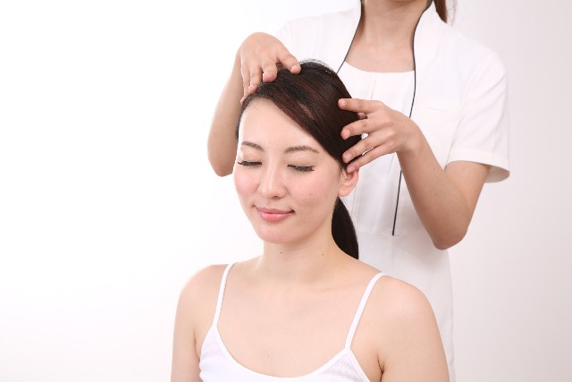 Drying of scalp